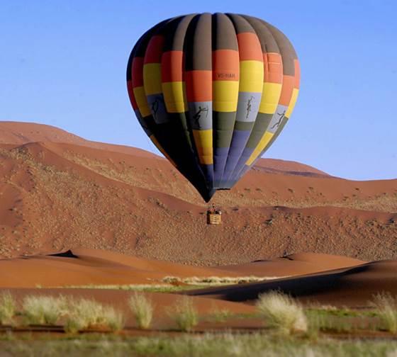 Ballonsafari Namibwoestijn