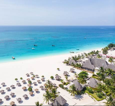 Flash sale Zanzibar - Gold Zanzibar Beach House & Spa (10 dagen / 7 nachten)