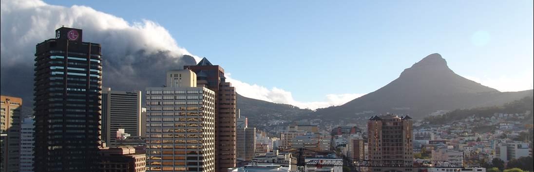 Vertrek Kaapstad