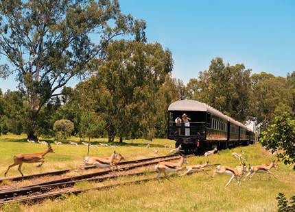 Shongololo Express - The Dune Express Tour