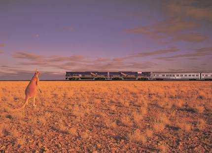 Indian Pacific - Sydney-Adelaide-Perth