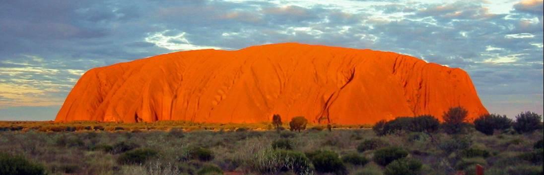 Alice Springs – Ayers Rock (Uluru)