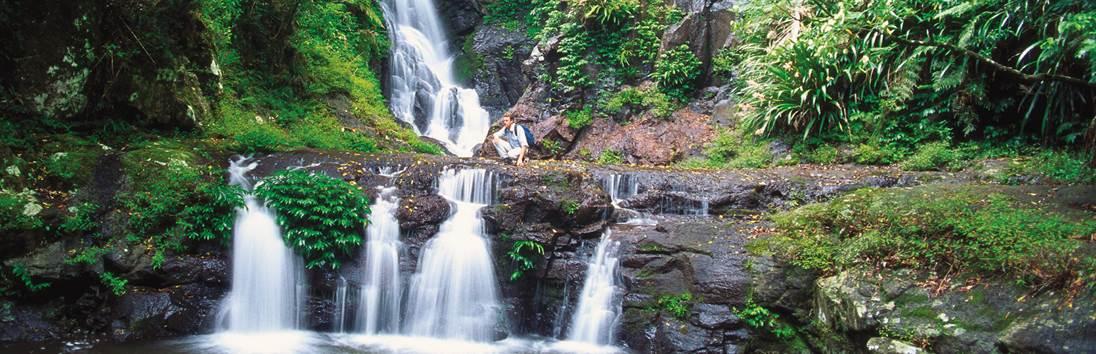 Byron Bay – Lamington Nationaal Park (126 km / 1.5 uur)