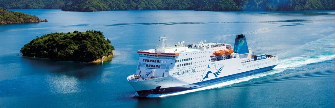Wellington – Nelson (ferry + 110 km)