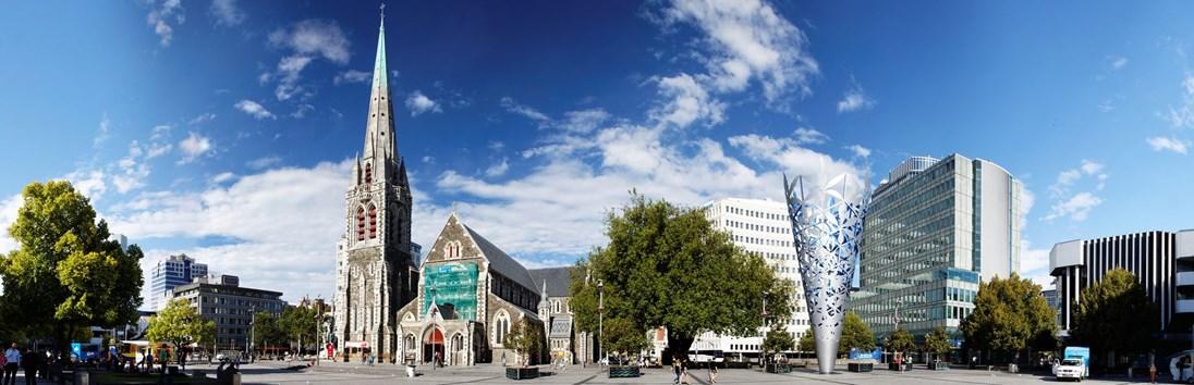 Vertrek Christchurch