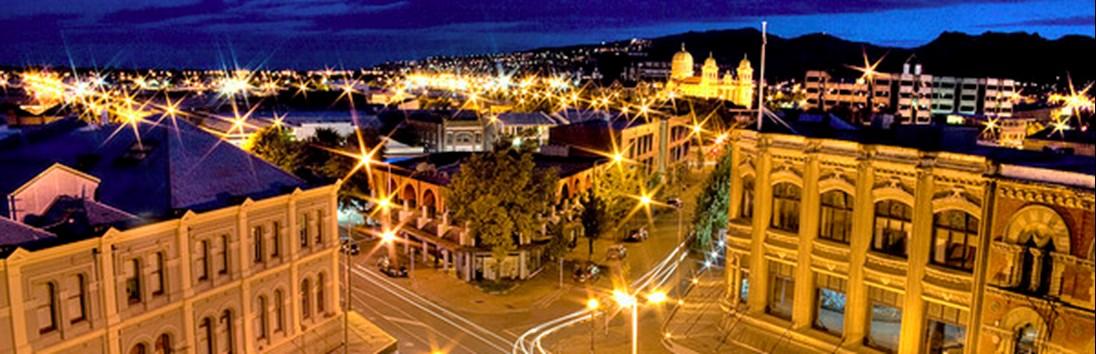 Vertrek uit Christchurch