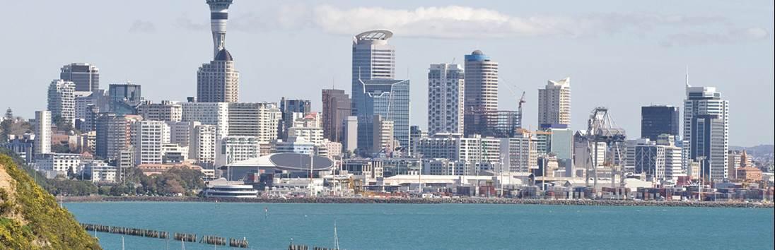 Aankomst Auckland